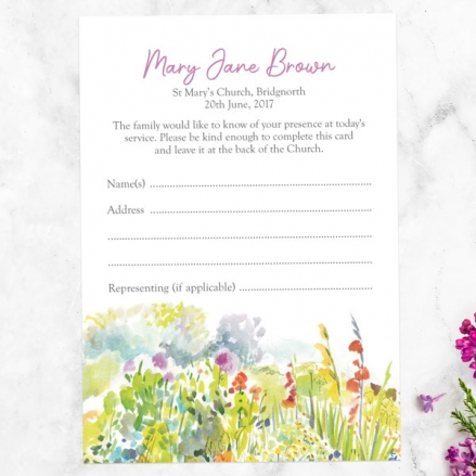 funeral-attendance-cards-watercolour-wildflowers