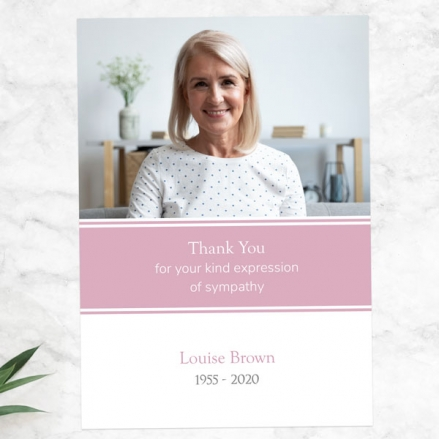 funeral-thank-you-cards-pink-photograph-memories