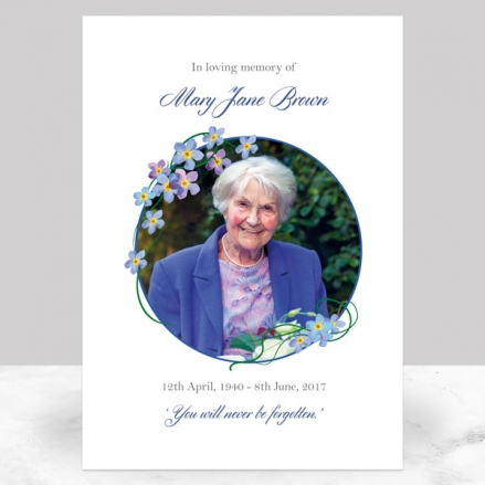 funeral-memorial-sign-forget-me-not-frame