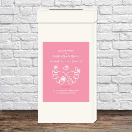 funeral-post-box-bright-pink-angel-wings-halo