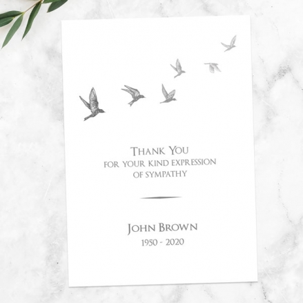 funeral-thank-you-cards-grey-flying-birds