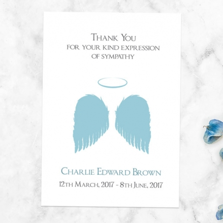 funeral-thank-you-cards-blue-angel-wings