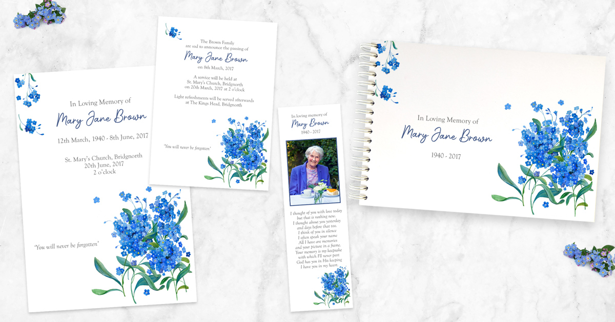 A Guide to Choosing Your Funeral Stationery
