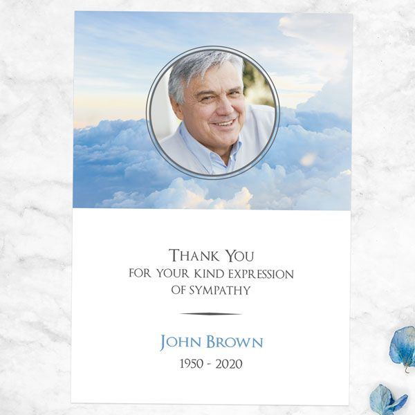 Do I Need to Send Funeral Thank You Cards? - Funeral Thank You Cards - Heavenly Clouds