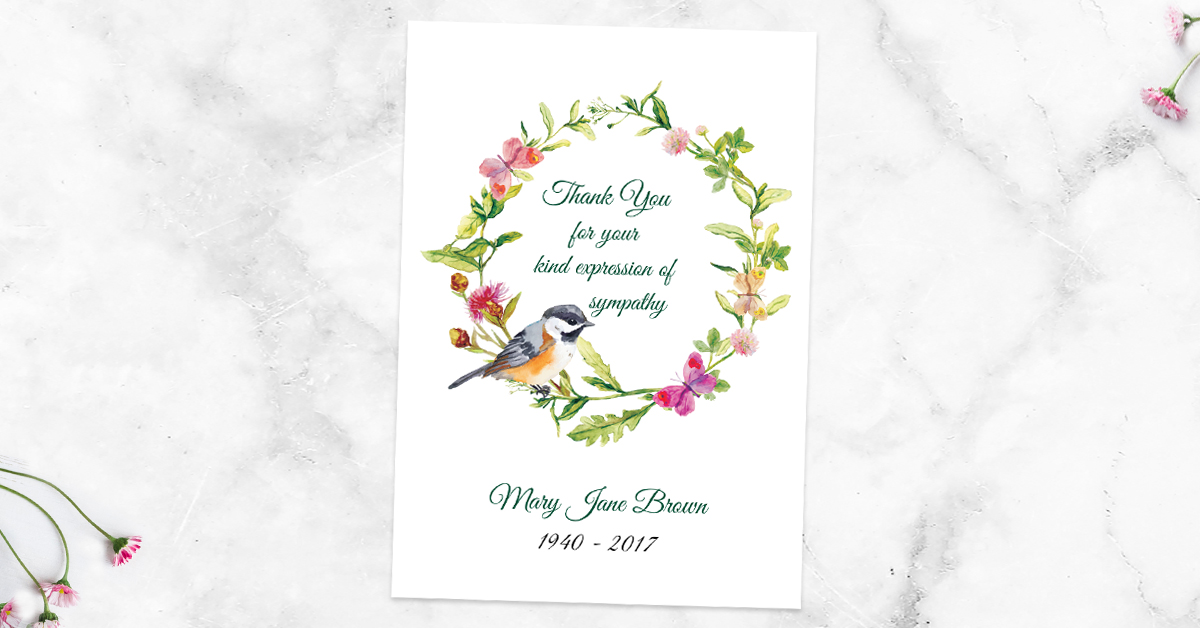 How Long After a Funeral Do You Send Thank You Cards?